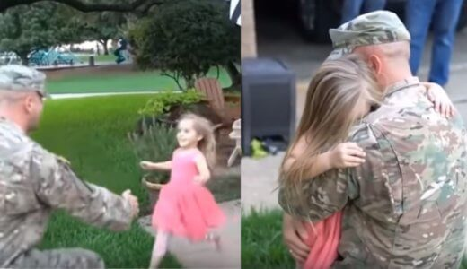 【感動の再会】戦地から帰ってきた兵士が子供と再会を果たす瞬間まとめ20選【サプライズ】