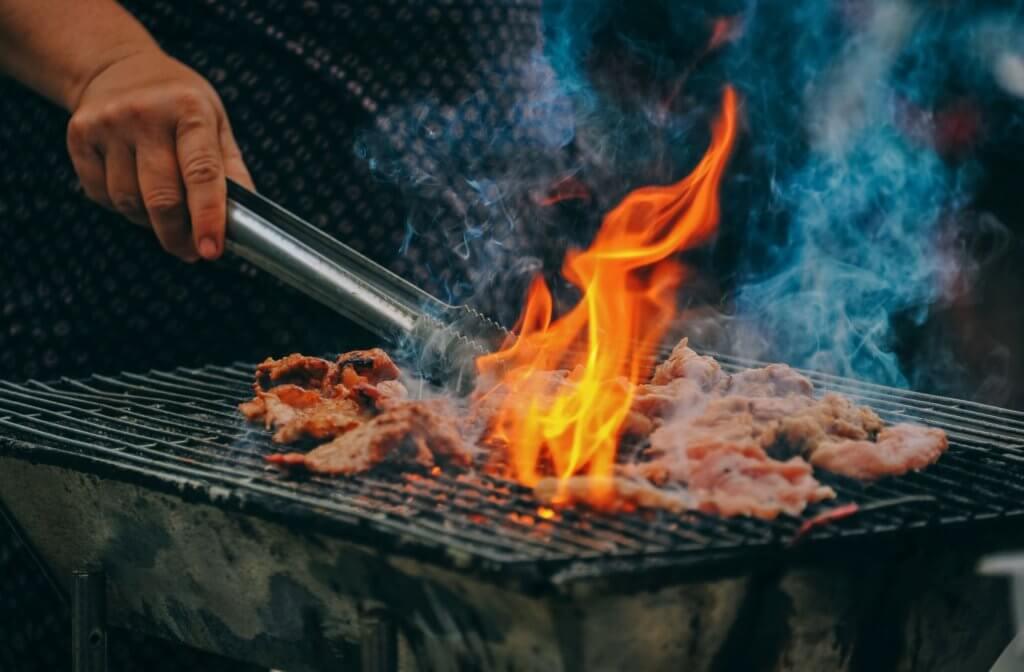 食べ物をしっかり加熱(感染症予防対策)